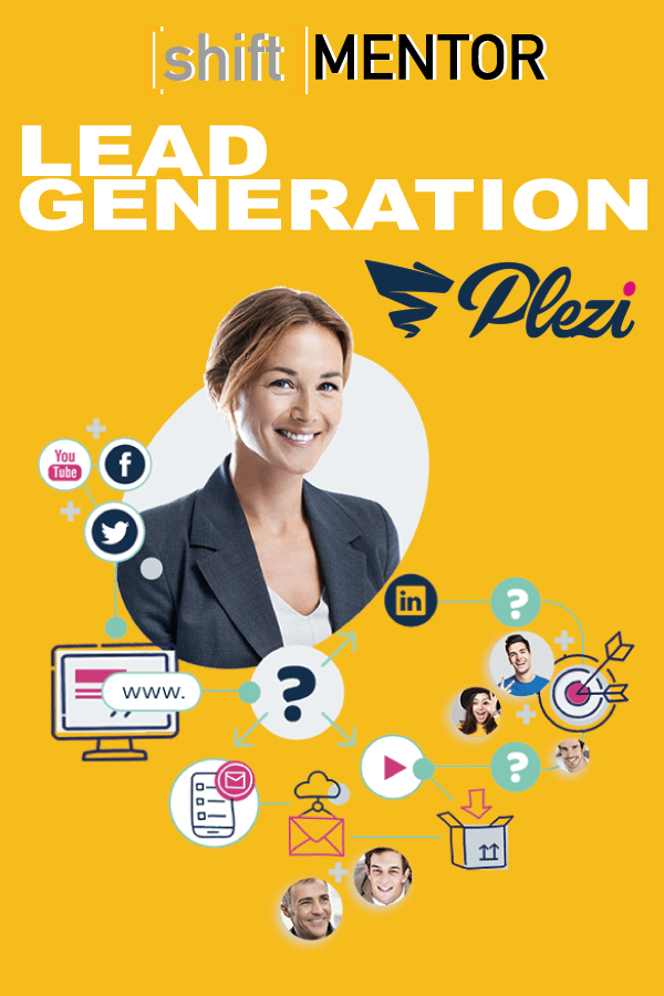 Shiftmentor-plezi-lead-generation
